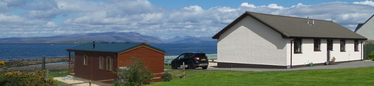 View of Broadford Bay from Caberfeidh B&B